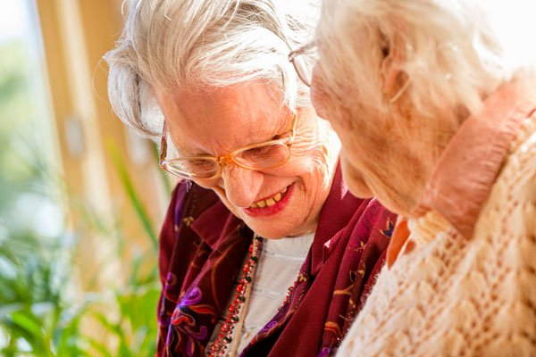 homestyle aged care - two ladies at green gables