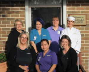 Staff at Melville Grange celebrate full accreditation
