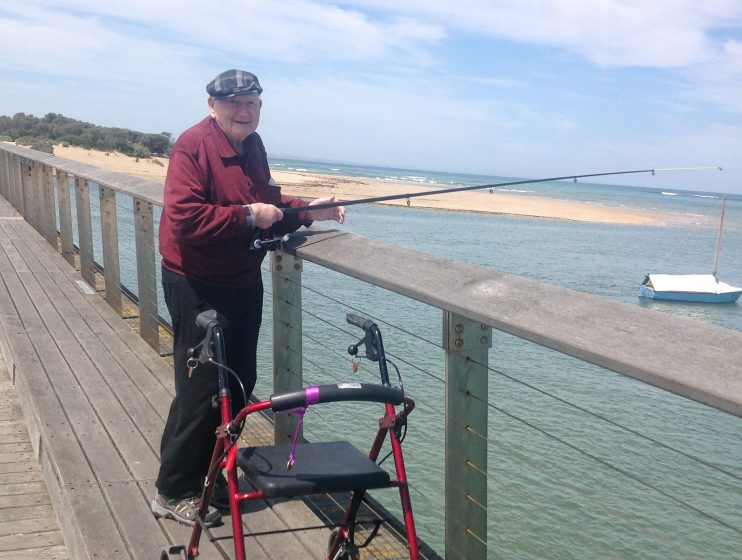 Fishing Excursion, Lifestyle Aged Care Program in Aged Care