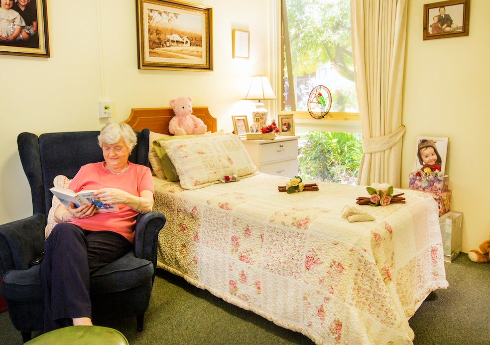 Having a respite break in aged care can help to relieve stress and recharge your batteries.