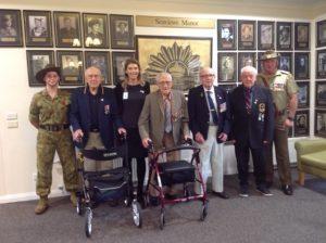 Anzac Day Commemoration at Sea Views Manor